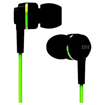 SoundMAGIC ES18S černo-zelená (6949379001550)