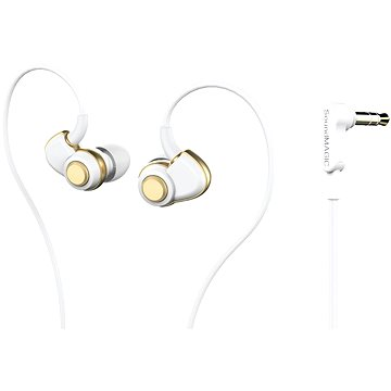 SoundMAGIC PL30+ white-gold (6949379001598)