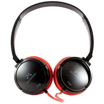 SoundMAGIC P10S černo-červená (6949379001659)