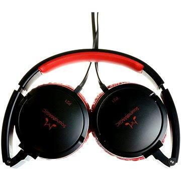 SoundMAGIC P21 černo-červená (6949379000850)