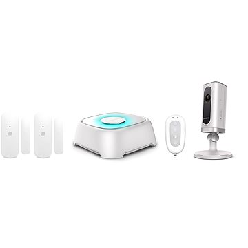 SMANOS W020 + IP6 Wireless Alarm + Cam System Kit (W020i)