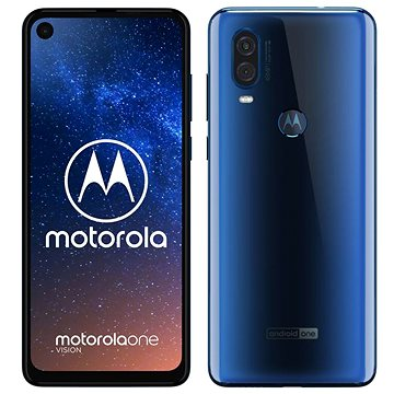 Motorola One Vision modrá (PAFB0008RO)