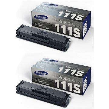 Samsung MLT-D111S černý 2ks (2xSU810A)