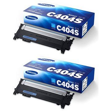 Samsung CLT-C404S azurový 2ks (2xST966A)