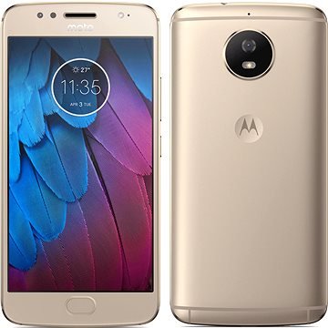 Motorola Moto G5s Gold (PA7W0032RO) + ZDARMA Digitální předplatné Interview - SK - Roční od ALZY Sluchátka do uší JBL L10A šedá