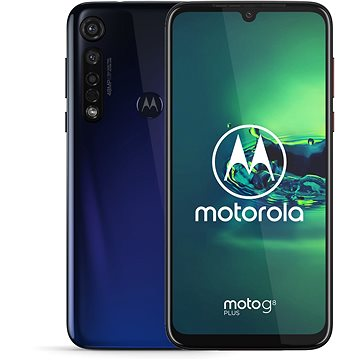 Motorola Moto G8 Plus modrá (PAGE0010PL)