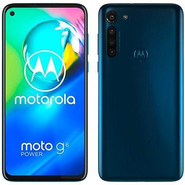 Motorola Moto G8 Power modrá (PAHF0005PL)