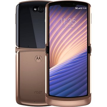 Motorola Razr 5G zlatá (PAJR0037PL)