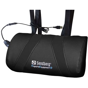 Sandberg Herní USB masážní polštář černý (640-85)