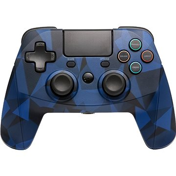 SNAKEBYTE GAME:PAD 4 S WIRELESS CAMO BLUE (SB912726)
