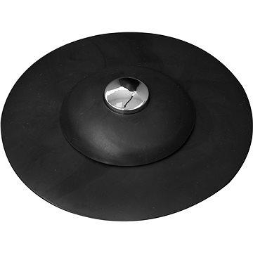 FALA Výpusť umyvadlová silikonová s filtrem černá (5906083029929)