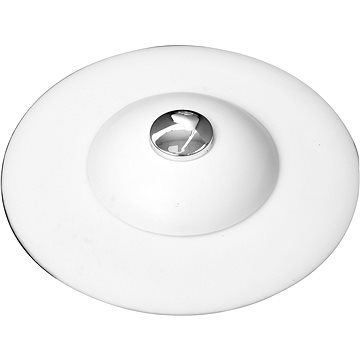 FALA Výpusť umyvadlová silikonová s filtrem bílá (5906083039393)