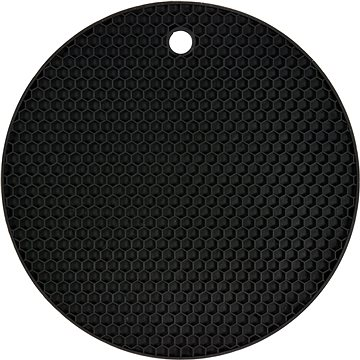 FALA Podložka pod horkou konev silikonová černá (5906083039492)