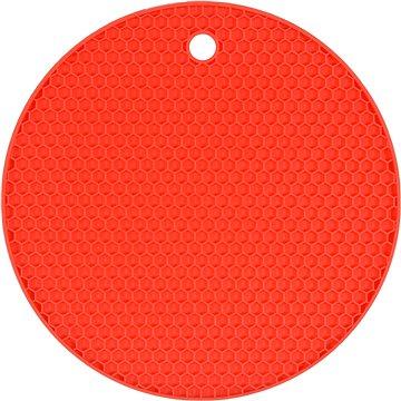 FALA Podložka pod horkou konev silikonová červená (5906083039522)