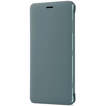 Sony SCSH50 Style Cover Flip pro Xperia XZ2 Compact Green (1312-4416)