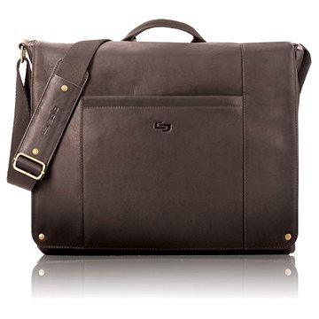 Solo Hudson Leather Messenger Espresso 16 (VTA502-3)