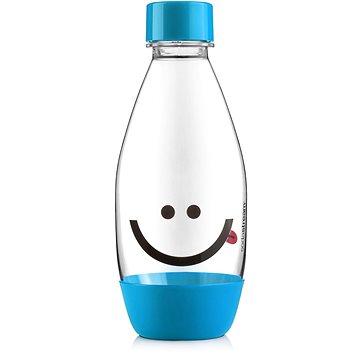 SodaStream Lahev dětská 0.5l Smajlík modrá (8719128113555)