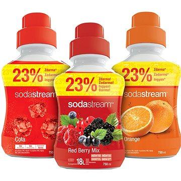 SodaStream Pomeranč/Cola/Lesní plody (98021592)