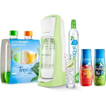 SodaStream Jet Grass Green Tropical Edition Ostrov 2+2
