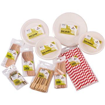 SOLO Jednorázové nádobí set - 12 osob (700030)