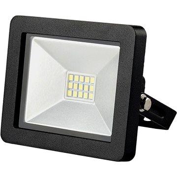 LED venkovní reflektor SLIM, 10W, 700lm, 3000K, černý (WM-10W-G)