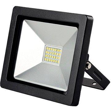 LED venkovní reflektor SLIM, 30W, 2100lm, 3000K, černá (WM-30W-G)