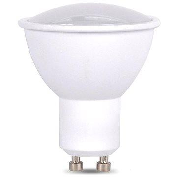 LED žárovka, bodová , 7W, GU10, 3000K, 500lm, bílá (WZ318A)