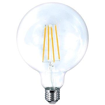 LED žárovka retro, Globe G125, 8W, E27, 3000K, 360°, 810lm (WZ523)