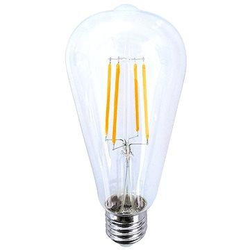 LED žárovka retro, EDISON ST65, 8W, E27, 3000K, 360°, 810lm (WZ526)