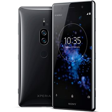 Sony Xperia XZ2 Premium Chrome Black (1313-8544)