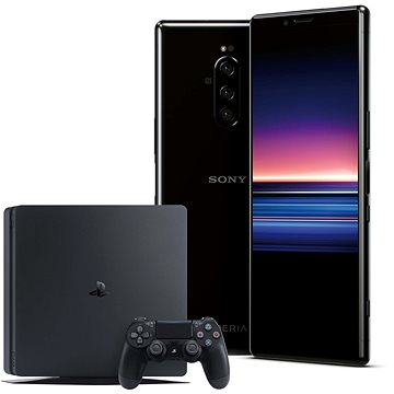 Sony Xperia 1 černá + PlayStation 4 Fortnite (SON000012 )