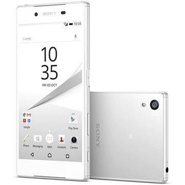 Sony Xperia Z5 White Dual SIM (1298-1000) + ZDARMA Power Bank Mobile Battery 2600 mAh Digitální předplatné Týden - roční