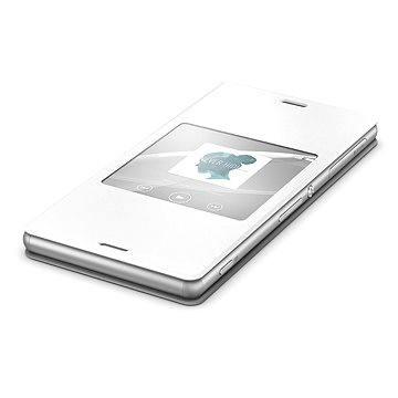 Sony flipový kryt SCR24 Smart White (1287-5640)