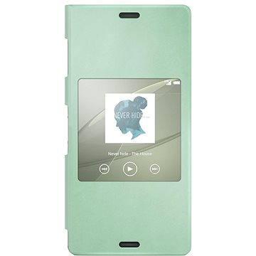 Sony flipový kryt SCR24 Smart Green (1287-5636)