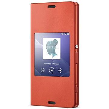 Sony flipový kryt SCR26 Smart Orange (1287-5819)