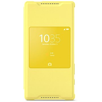 Sony flipový kryt SCR44 Smart Cover Yellow (1296-8975)