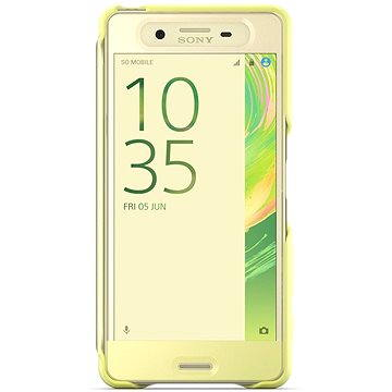 Sony Style Cover Touch SCR56 Lime Gold (1301-7696)