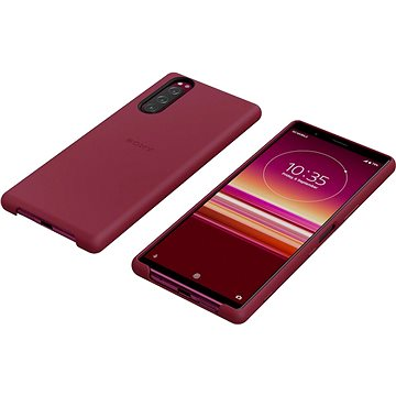 Sony Mobile SCBJ10 Style Back Cover pro Xperia 5 Red (1320-1068)