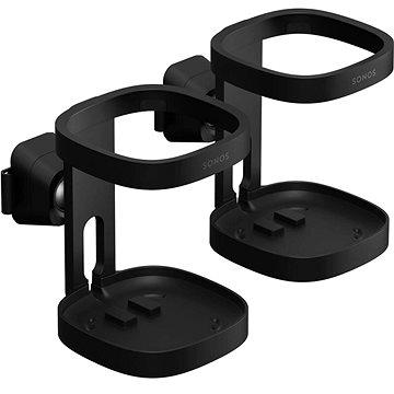 Sonos držák na zeď černý (pár) (S1WMPWW1BLK)