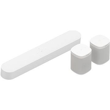 Sonos Beam 5.0 Surround set bílý