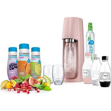SodaStream SPIRIT Růžový Ladys Pack (42003267)