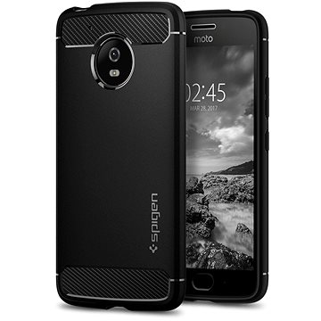 Spigen Rugged Armor Black Moto G5 (M08CS21501)
