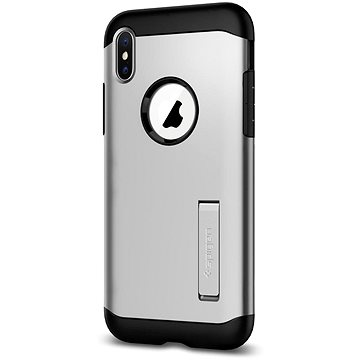 Spigen Slim Armor Silver iPhone X (057CS22546)