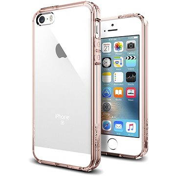 SPIGEN Ultra Hybrid Rose Crystal iPhone SE/5s/5 (041CS20172)