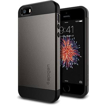 SPIGEN Slim Armor Gunmetal iPhone SE/5s/5 (041CS20175)