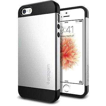 SPIGEN Slim Armor Satin Silver iPhone SE/5s/5 (041CS20249)