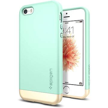 SPIGEN Style Armor Mint iPhone SE/5s/5 (041CS20179)