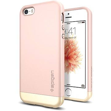 SPIGEN Style Armor Rose Gold iPhone SE/5s/5 (041CS20180)