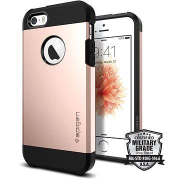 SPIGEN Tough Armor Rose Gold iPhone SE/5s/5 (041CS20190)