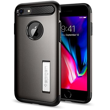 Spigen Slim Armor, Gunmetal iPhone 7 (042CS20301)